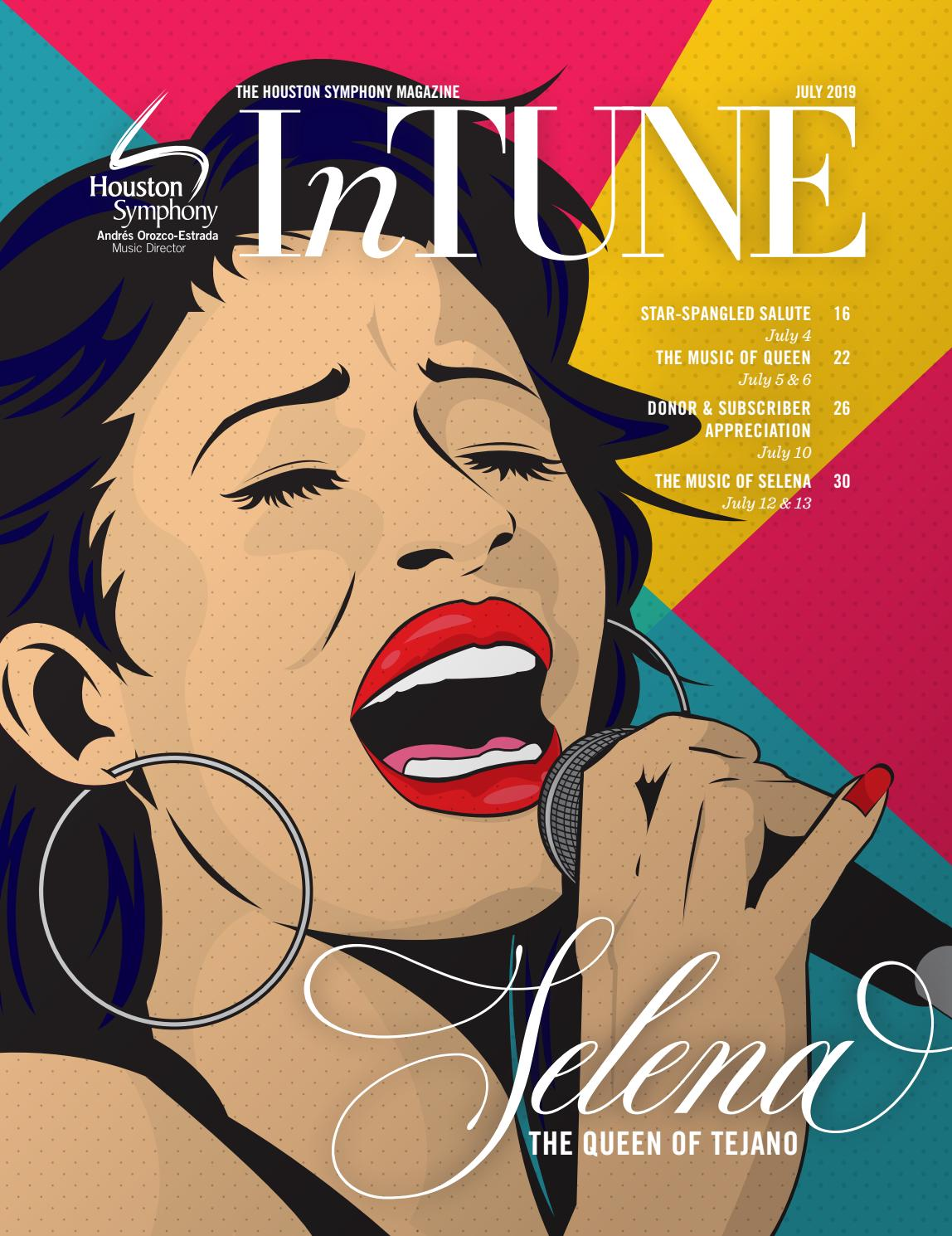 InTune — The Houston Symphony Magazine — July 2019 by
