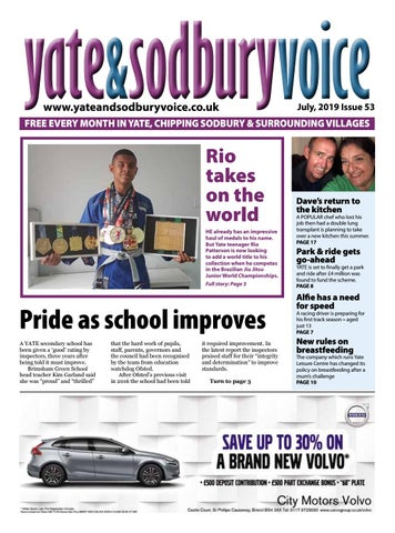 Yate Sodbury Voice July 2019 By Richard Drew At Yate And