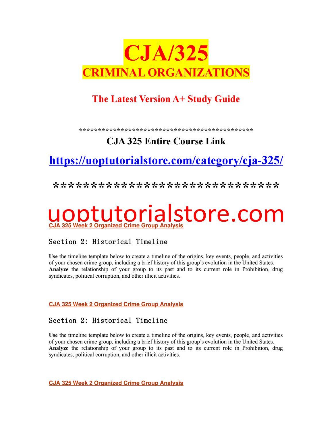 organized crime definition sociology
