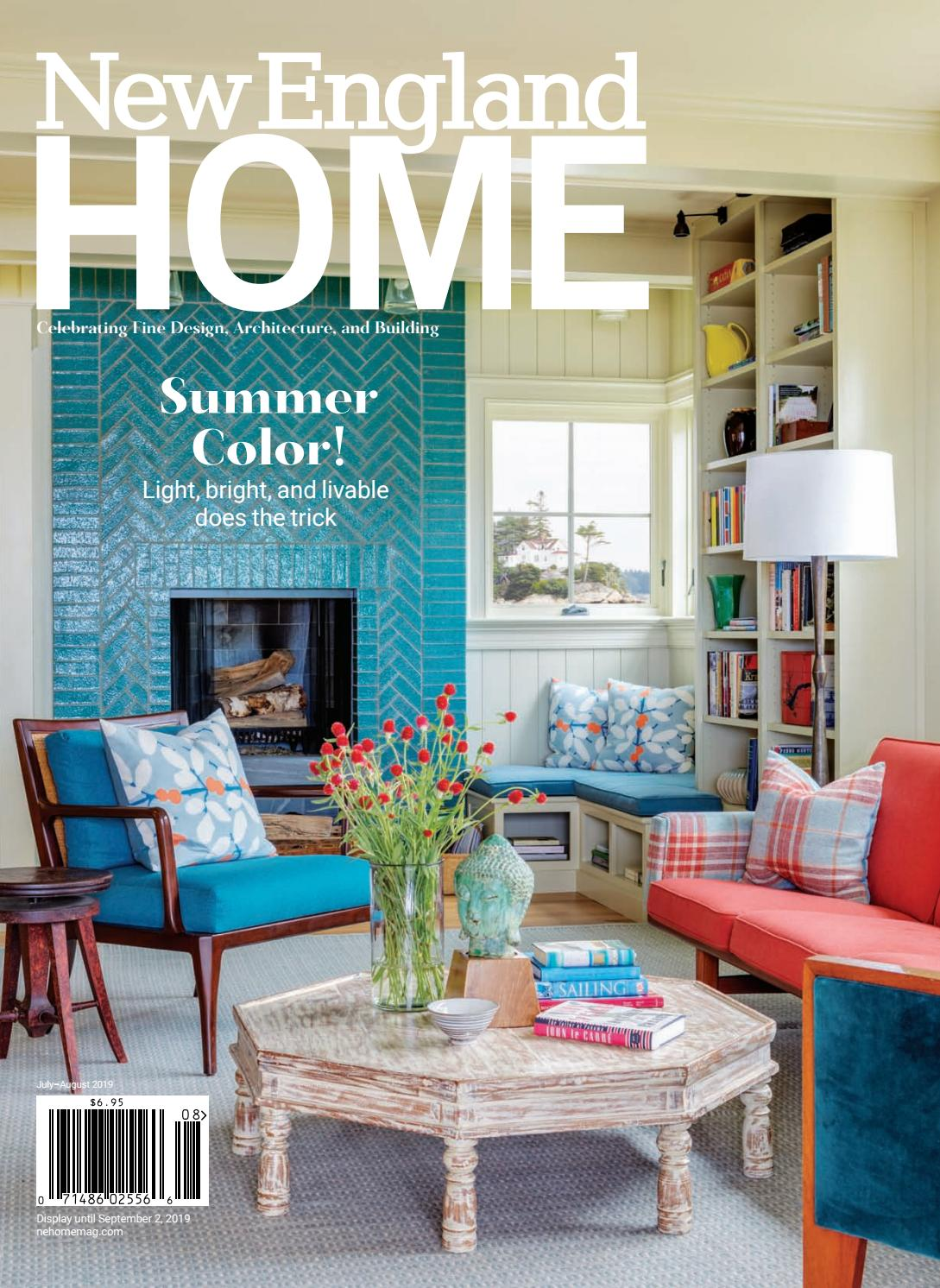 New England Home July - August 2019 by New England Home