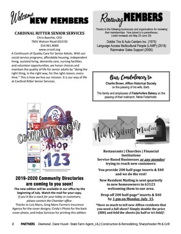 Page 2 of upcoming events