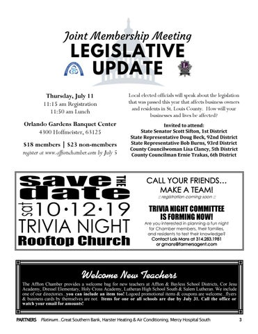 Page 3 of upcoming events