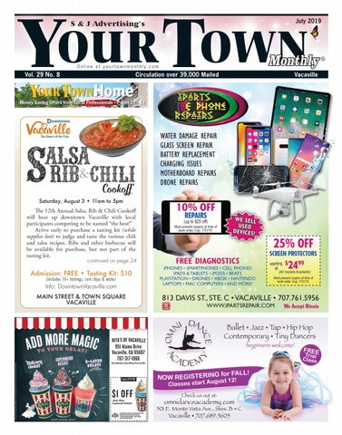 Your Town Monthly: Vacaville July 2019 by Your Town Monthly
