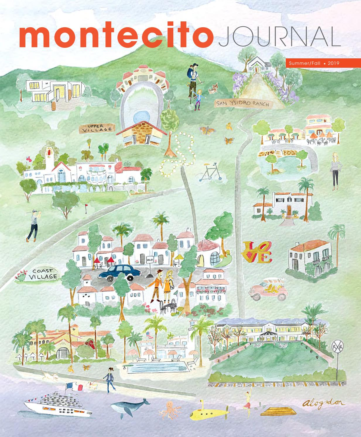 Clair De Baie Dijon montecito journal glossy edition summer/fall 2019