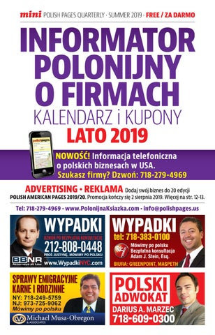 Page 1 of Mini Polonijna Książka Lato 2019