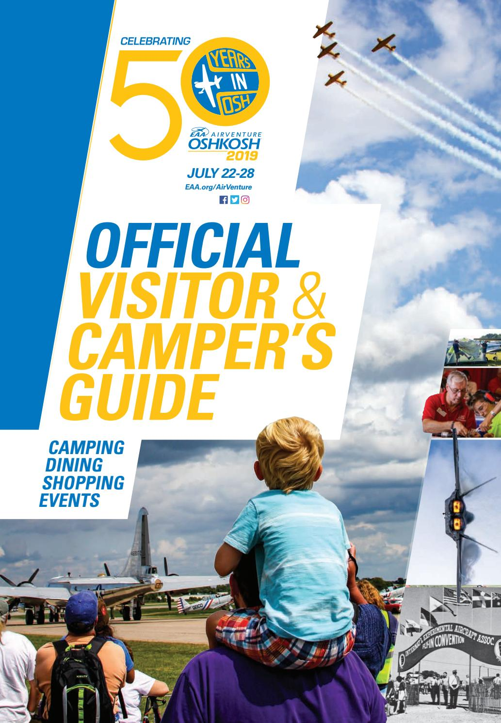 Official Visitor and Camper's Guide - AirVenture 2019 by EAA