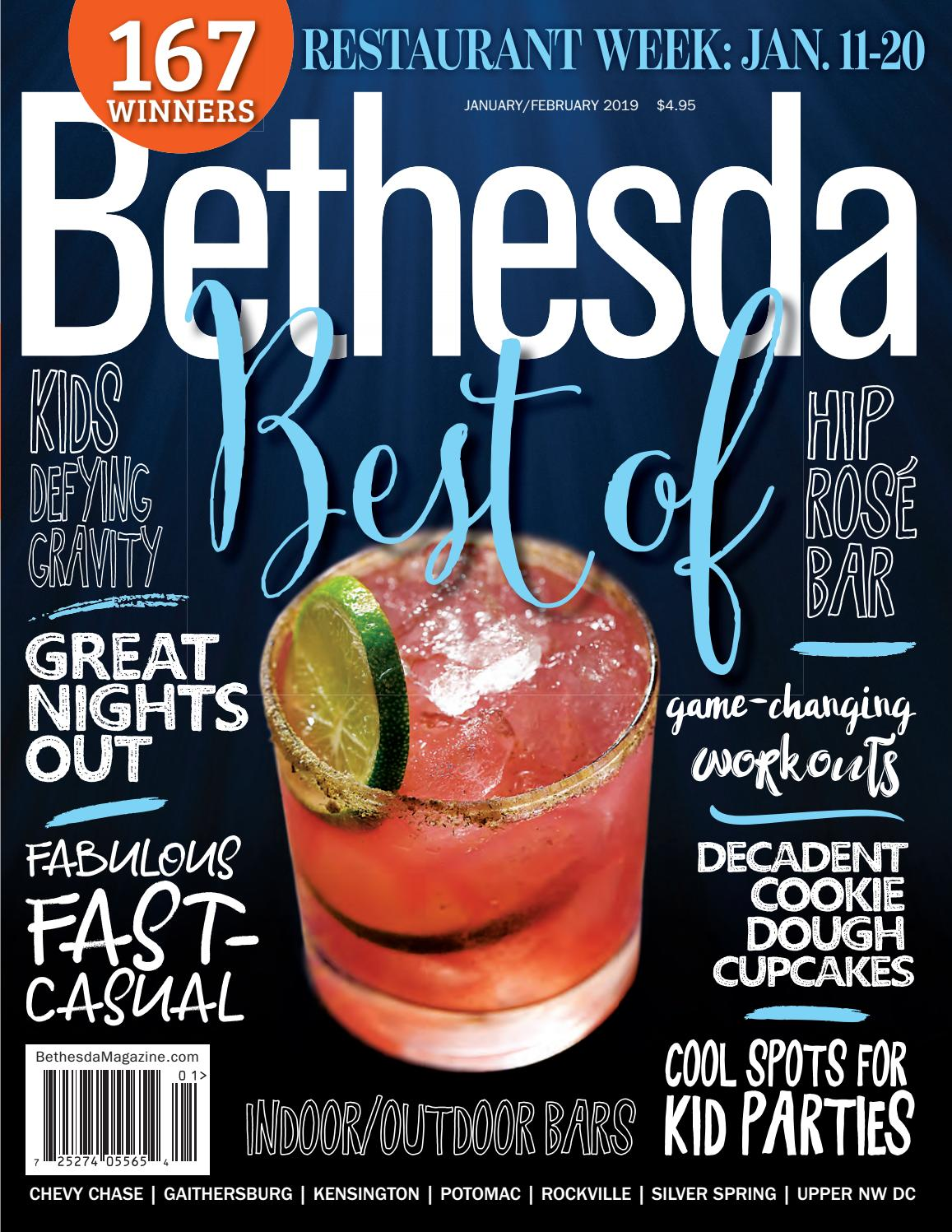 Bethesda Magazine: January-February 2019 by Bethesda Magazine - issuu