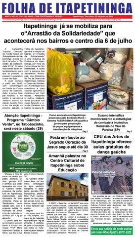 Folha de Itapetininga 25/06/2019 (Terca-feira)