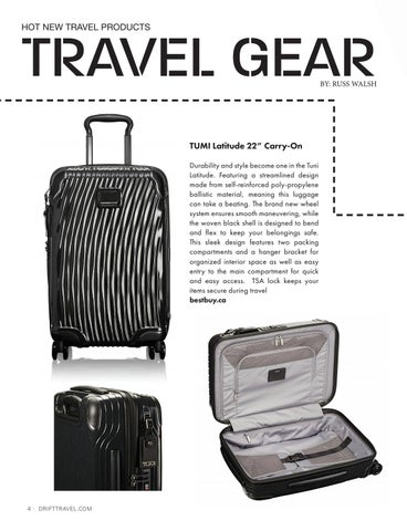Page 6 of Travel Gear