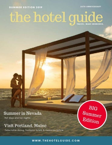 The Hotel Guide - Summer Edition 2019 by The Hotel Guide - issuu
