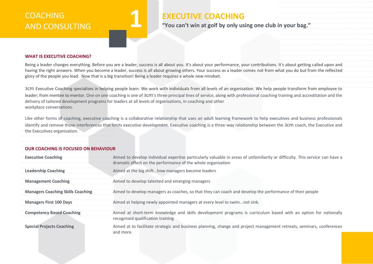 3cm Professional Development Prospectus 2019 By 3cm School Of Management Issuu