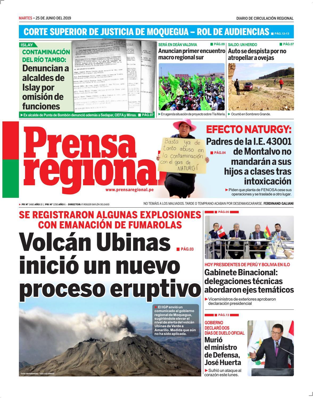 Pr Prensa By Diario Issuu 20190625 Regional 2WIY9EDH