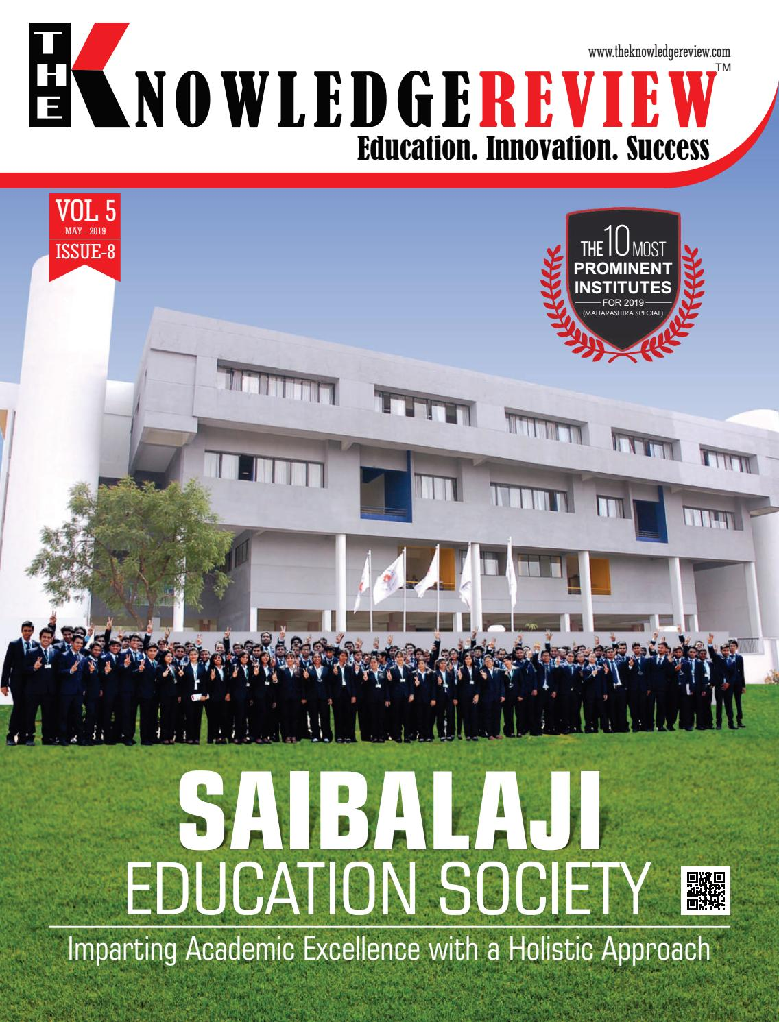 The 10 Most Prominent Institutes For 2019 Maharashtra Special By The Knowledge Review Issuu
