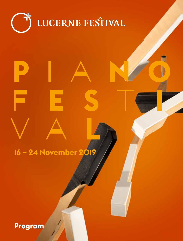 LUCERNE FESTIVAL | Piano Festival 2019 by LUCERNE FESTIVAL