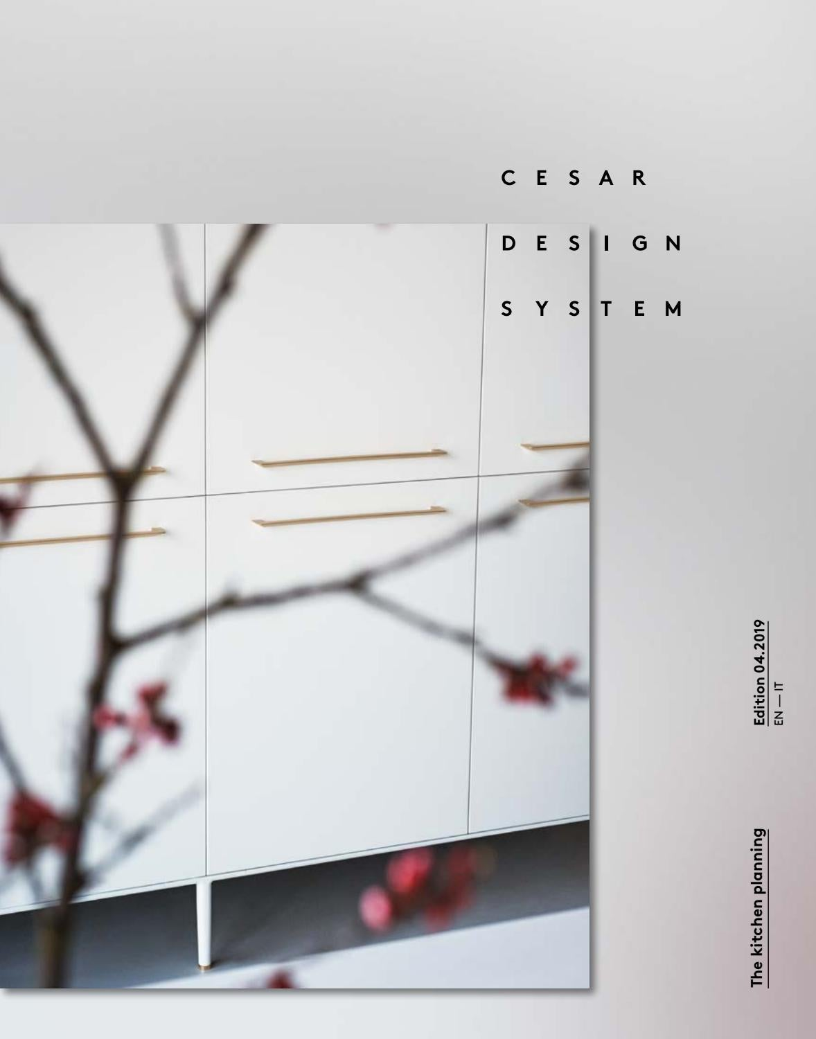 Cesar Arredamenti Spa Pramaggiore cesar design system - the kitchen planning (en - it) by