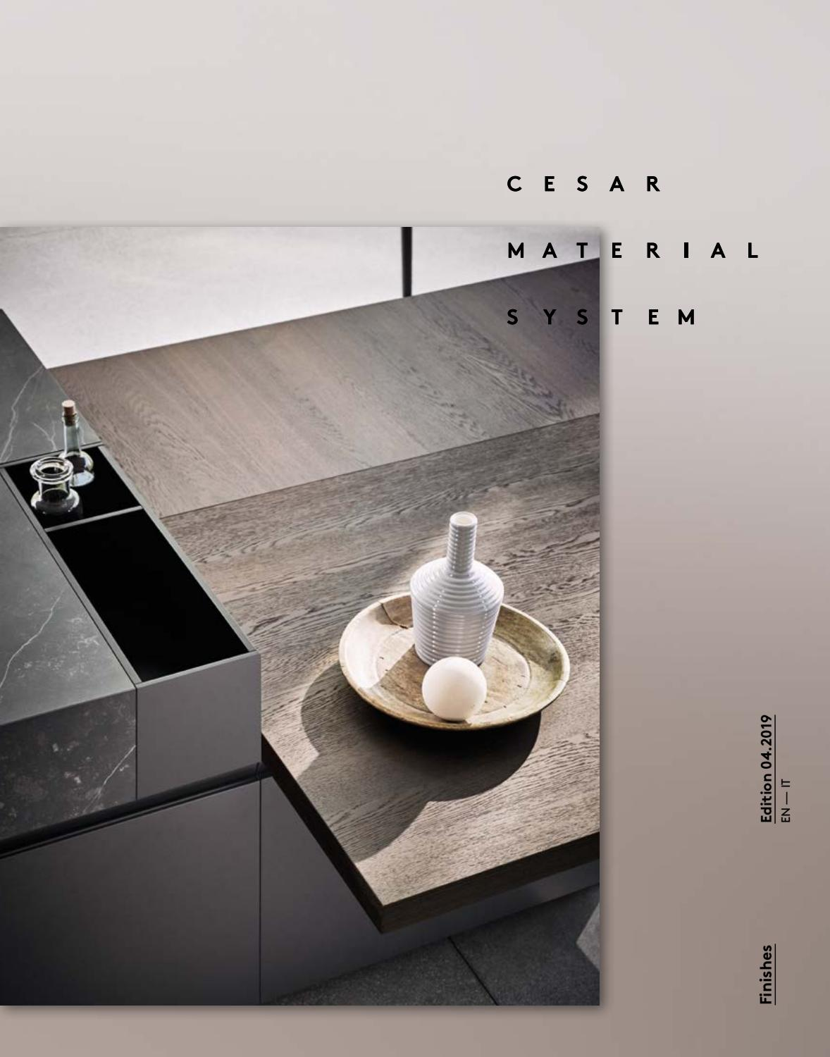 Cesar Arredamenti Spa Pramaggiore cesar material system - finishes (en - it) by cesar - issuu
