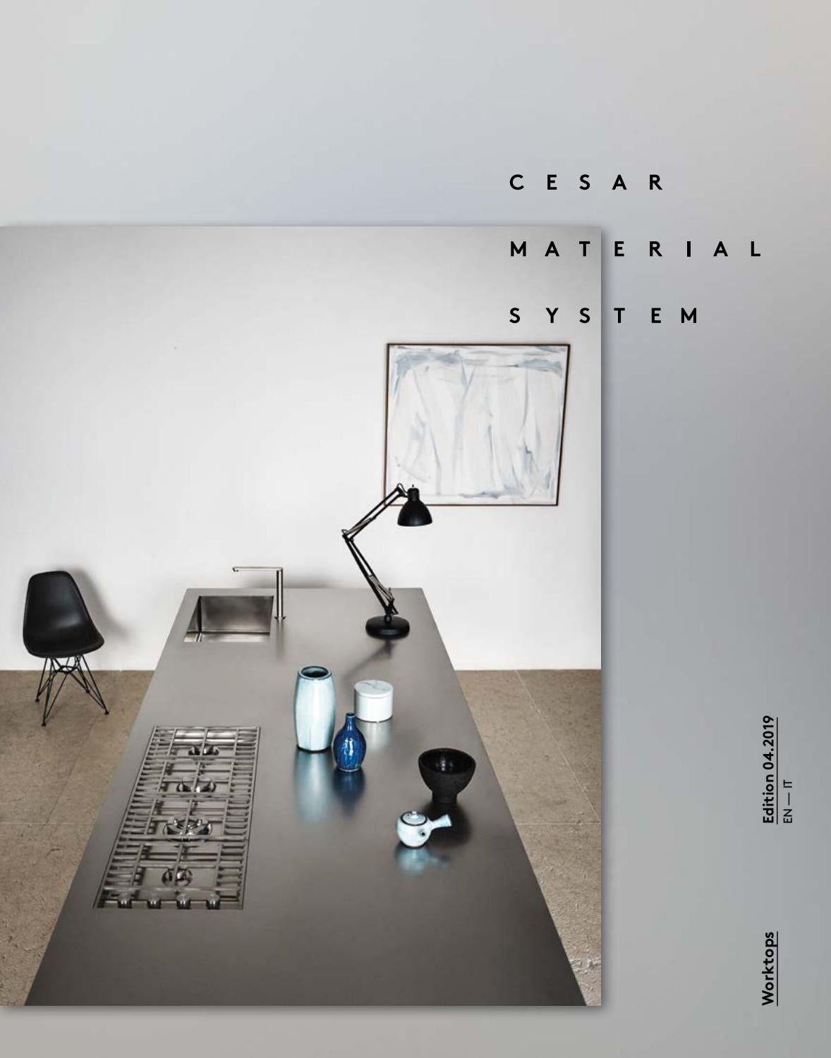 Cesar Arredamenti Spa Pramaggiore cesar material system - worktops (en-it) by cesar - issuu