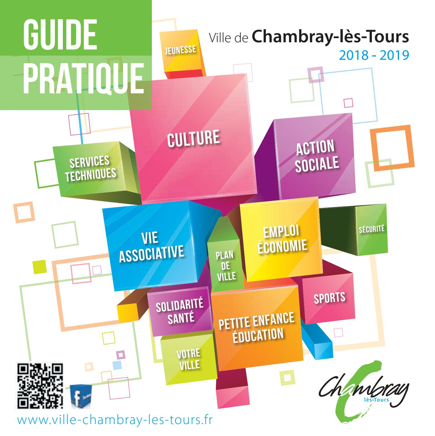 Guide Pratique 2018 2019 By Ville Chambray Lès Tours Issuu