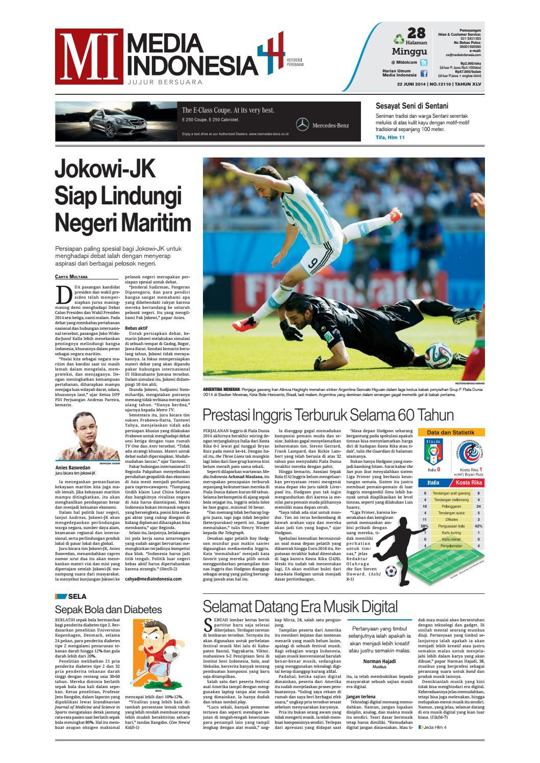 Media Indonesia 22 Juni 2019 By Mediaindonesia Issuu
