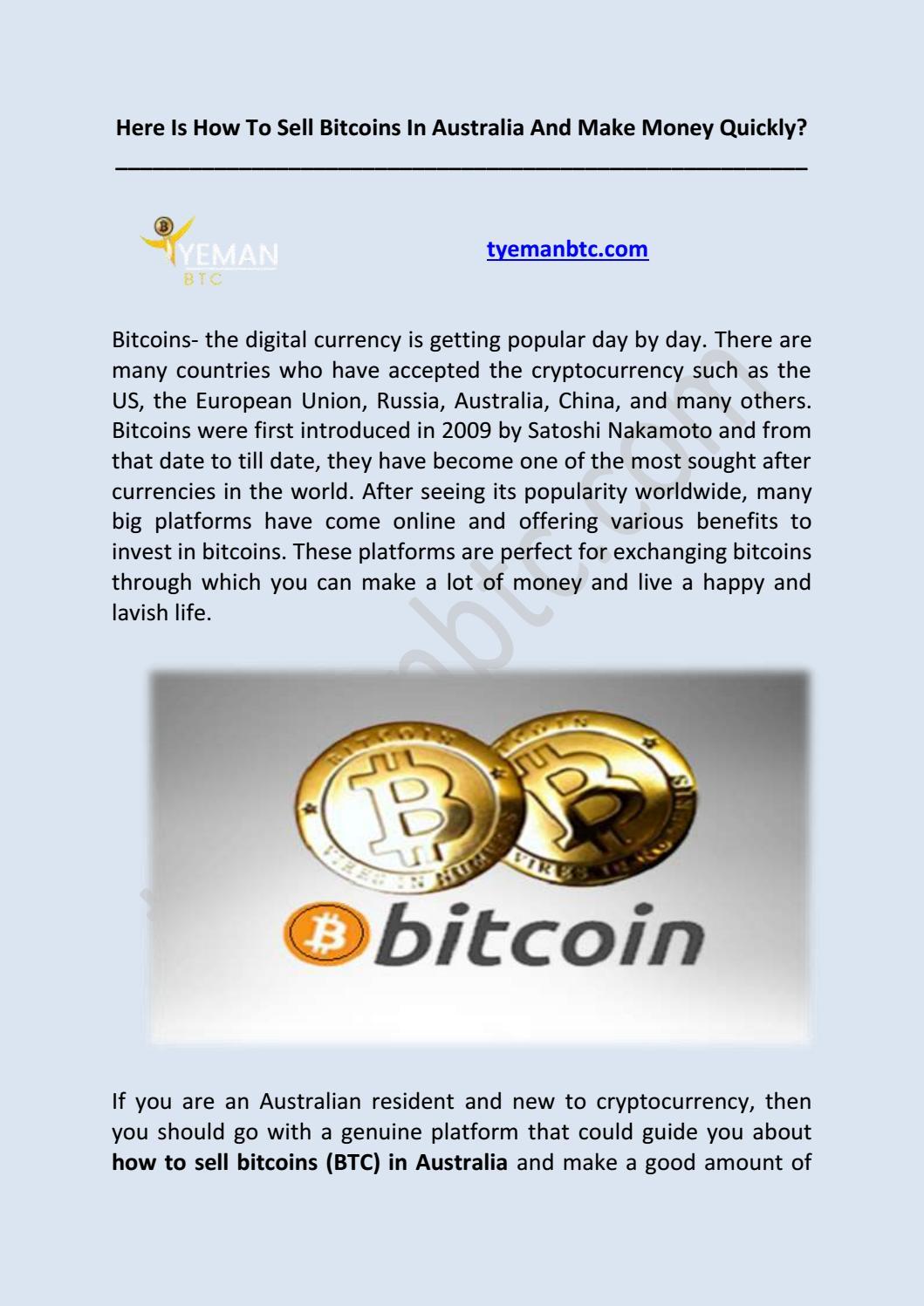 buy sell bitcoin australia