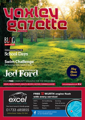 Yaxley Gazette May 2018 by Dimension6000 - issuu