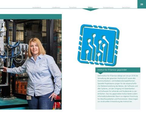 Page 39 of Früh ein Netzwerk aufbauen: Alumna Verena Thimm verband bereits als Maschinenbaustudentin Studium und Beruf