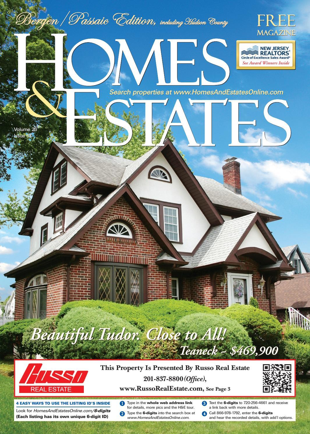 Homes & Estates Mag. Bergen/Paic (June 26 - July 10, 2019 ... on