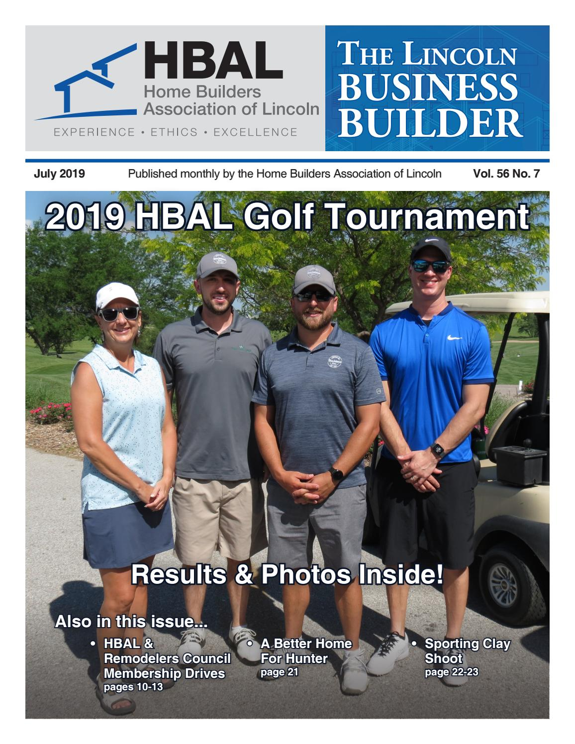 Lincoln Business Builder (July 2019) by Home Builders