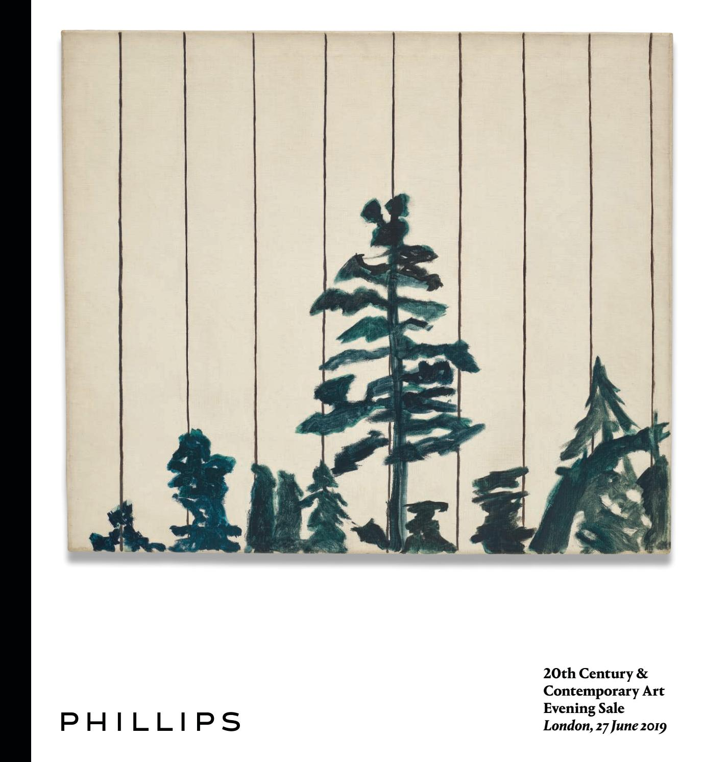 20th Century Contemporary Art Evening Sale Catalogue By