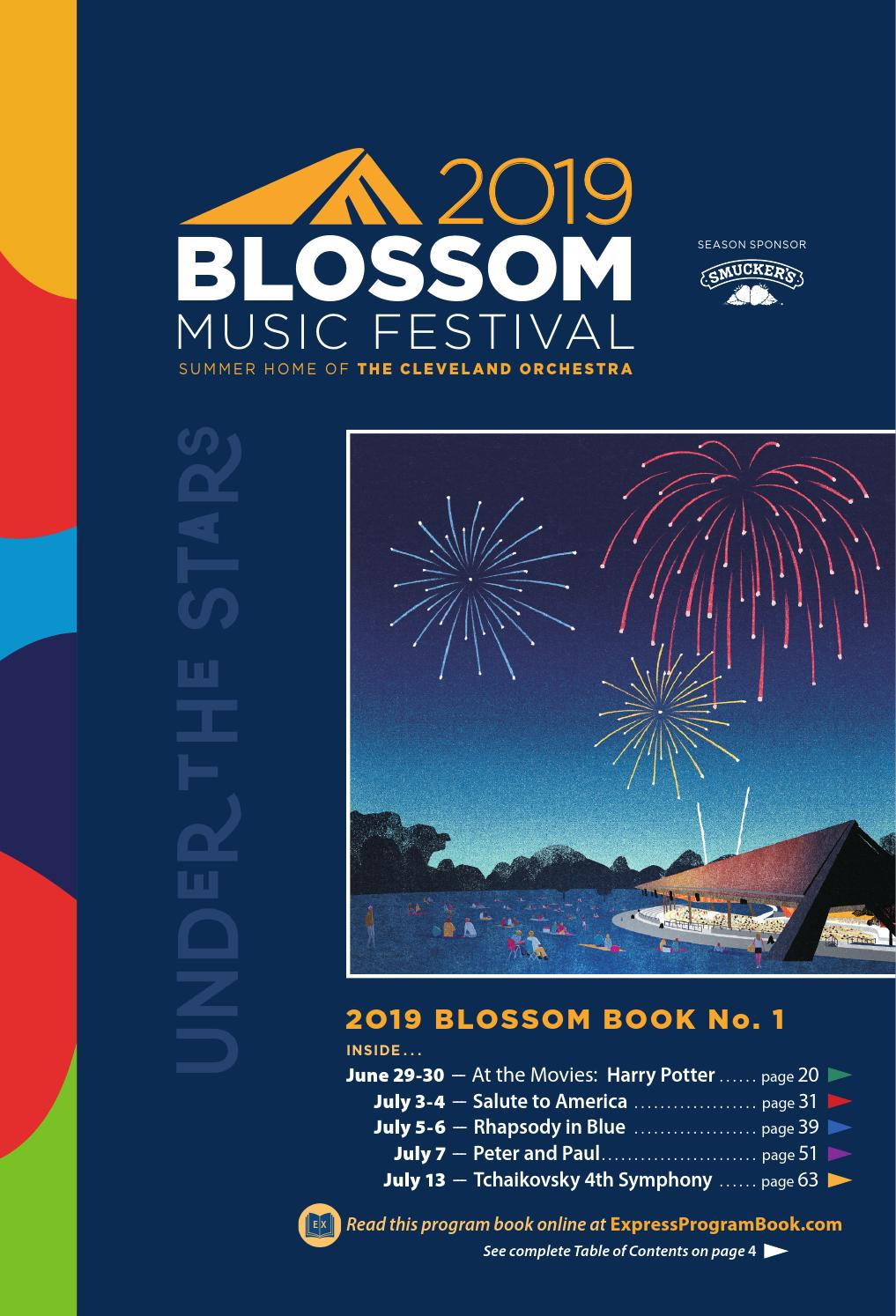 2019 Blossom Music Festival Book No  1 by Live Publishing