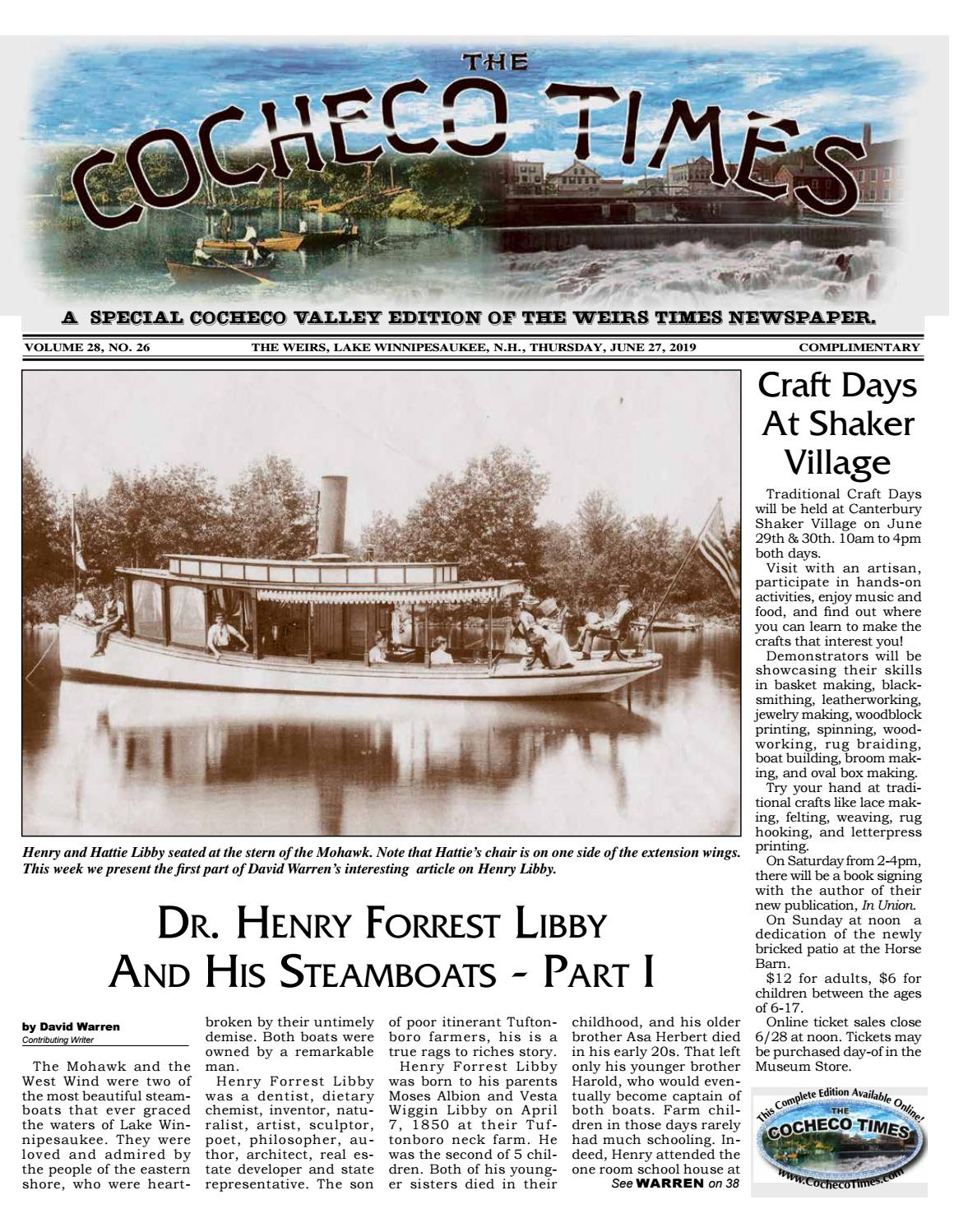 06/27/19 Cocheco Times by The Weirs Publishing Company - issuu