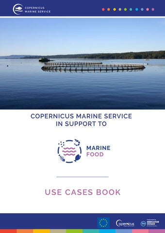 Copernicus Marine Service in support to Marine Food Sector by