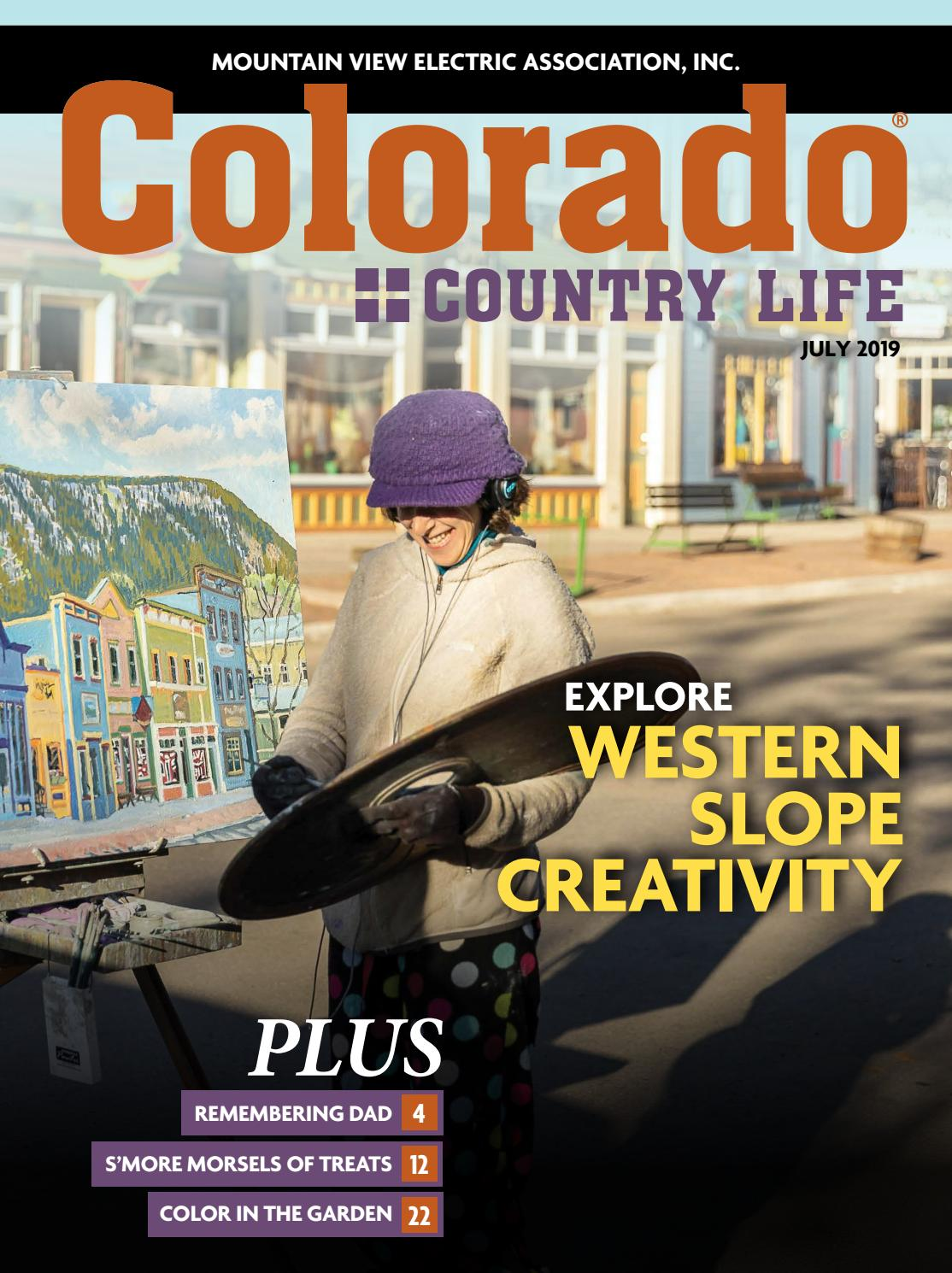 Colorado Country Life July 2019 Mountain View by American
