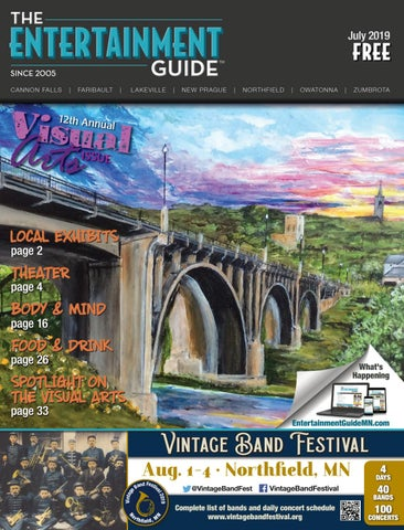 July 2019 Entertainment Guide By The Entertainment Guide Issuu