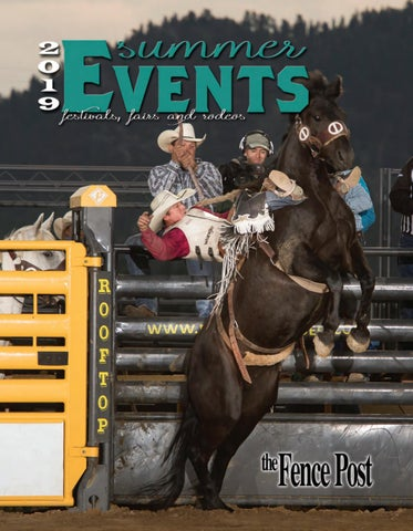 2019 Summer Events-- The Fence Post by Tri-State Livestock