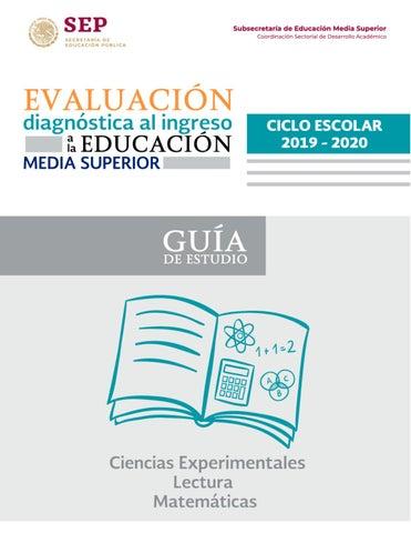Guia De Estudio 2019 2020 Cetis 104 By 52638 Issuu