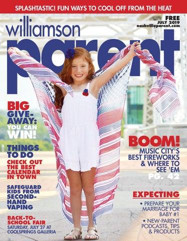 Williamson Parent magazine July 2019