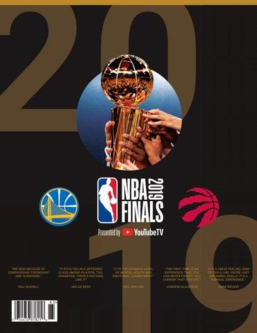 detailed look 04ab7 fb9ab NBA Finals 2019 by HOOP - issuu