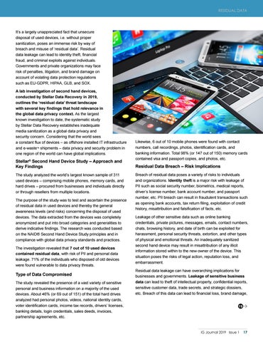 Page 19 of Residual Data : Threats at the Tail End of Devices