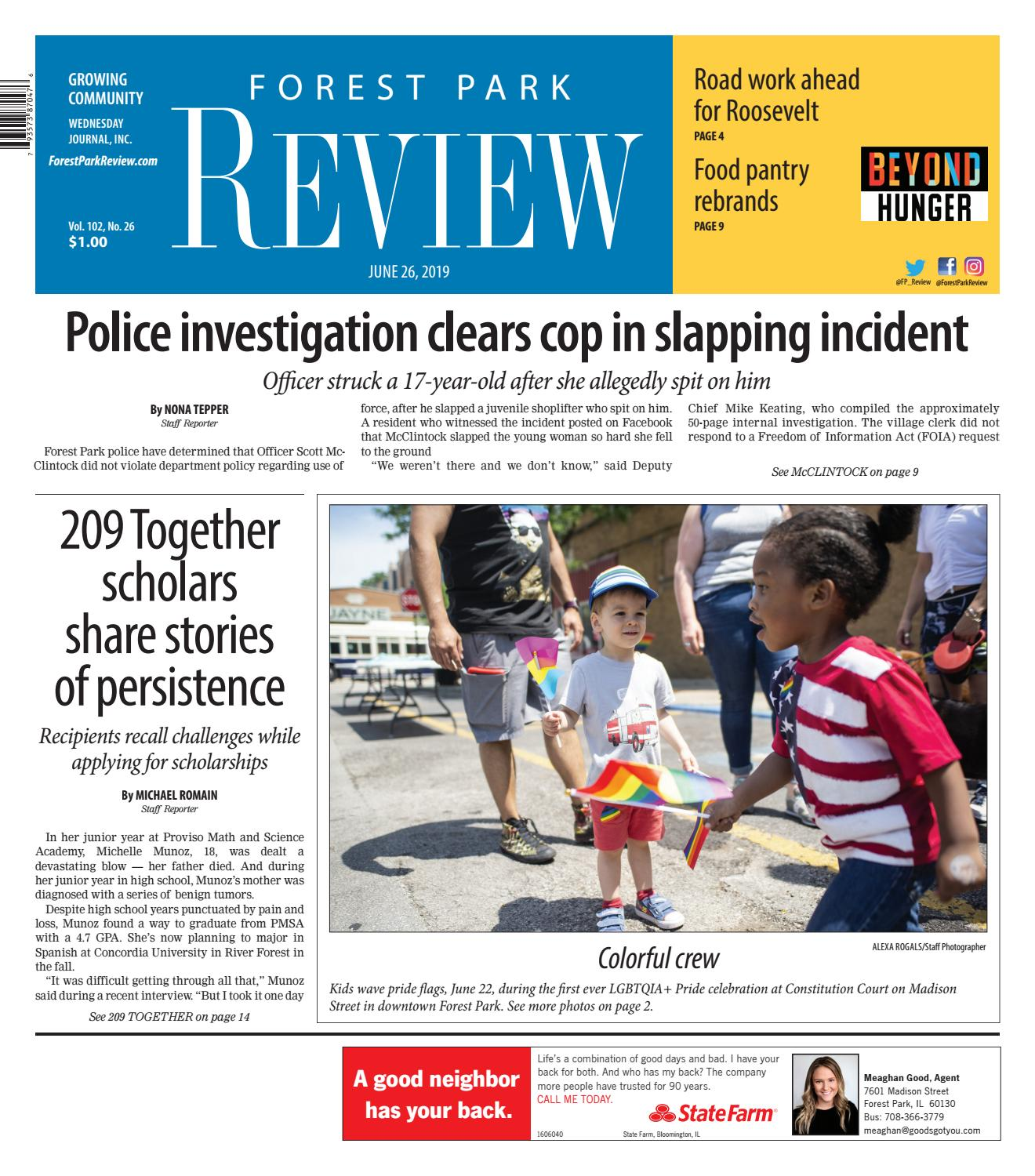 Forest Park Review 062619 By Wednesday Journal Issuu
