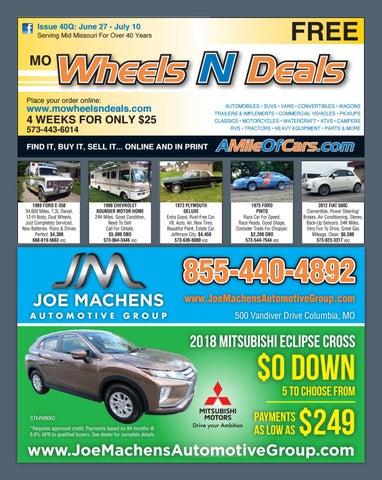 Wheels N Deals, Issue 40N by Maximum Media, Inc  - issuu