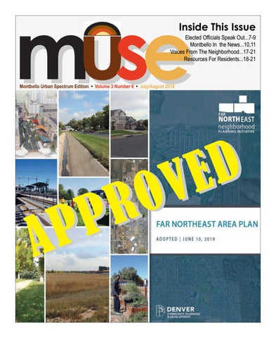 MUSE (Montbello Urban Spectrum Edition) July/August 2019 by