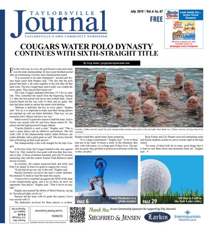 bda106abd Taylorsville Journal July 2019 by The City Journals - issuu