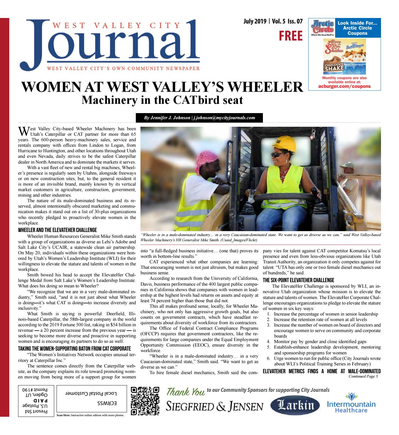 West Valley Journal July 2019