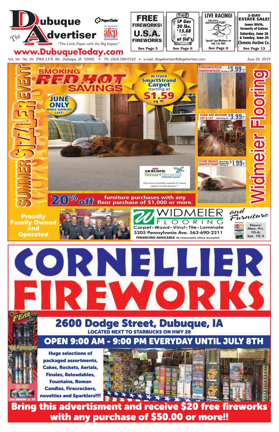 The Dubuque Advertiser June 26, 2019 by The Dubuque