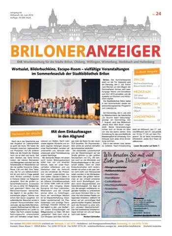 buy cheap buy best vast selection Briloner Anzeiger Ausgabe 24 vom 26.Juni 2019 by Brilon ...