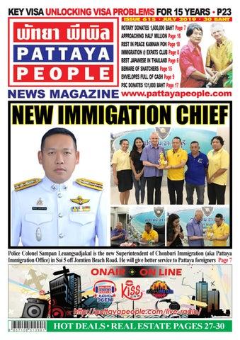 Pattaya People News Magazine 615 by PATTAYA PEOPLE NEWS MAGAZINE - issuu
