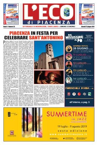 Eco Di Piacenza 27 06 2019 By Eco Di Piacenza Issuu