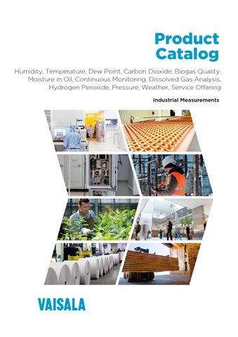 Vaisala's Industrial Product Catalog by Vaisala - issuu