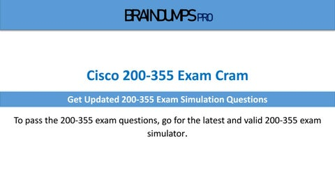 How To Prepare 200-355 Cisco CCNA Wireless Exam ? by Jimmy-Ryan - issuu
